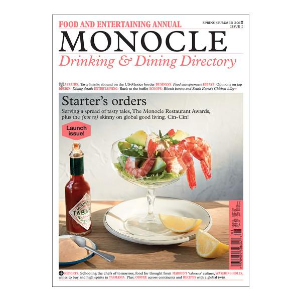 Monocle Magazine | Drinking & Dining Directory | The Gifted Type