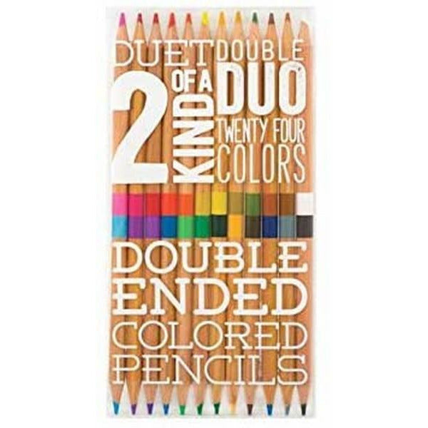 2 Of A Kind - Colored Pencils