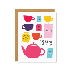 Cup Of Tea | Greeting Card | The Gifted Type