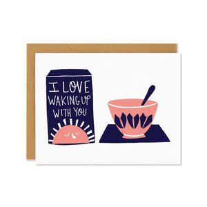 Breakfast | Greeting Card | The Gifted Type