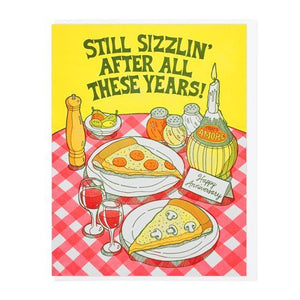 Still Sizzlin' Greeting Card