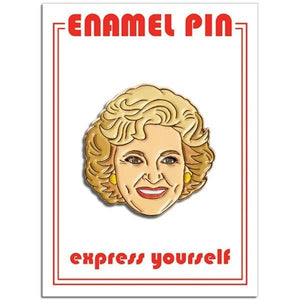 The Found Enamel Pin Betty White | The Gifted Type