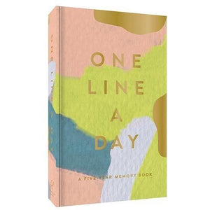One Line a Day - 5 Year Memory Book