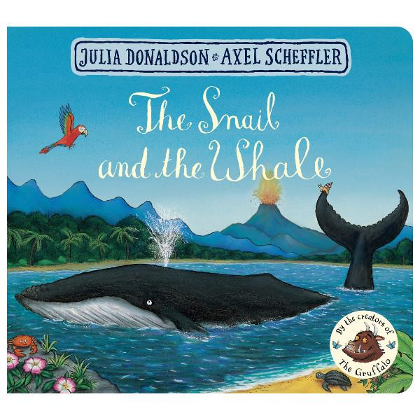 The Snail And The Whale Board Book | The Gifted Type