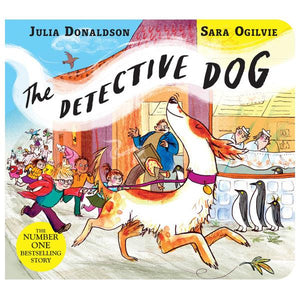 The Detective Dog Board Book | The Gifted Type