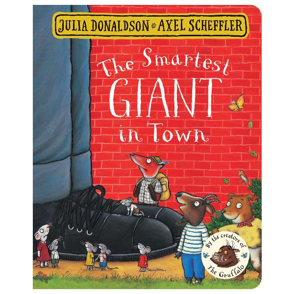 The Smartest Giant In Town Board Book | The Gifted Type