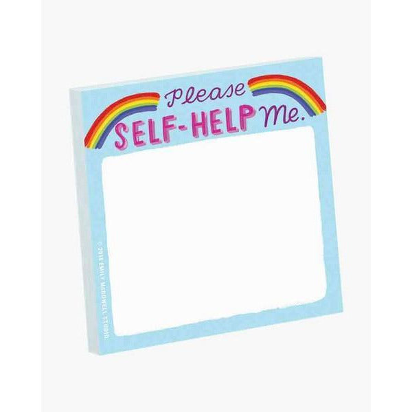 Please Self-Help Me- Sticky Notes