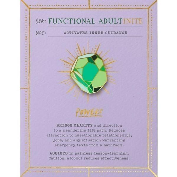 Functional Adultinite Greeting Card - with Magnetic Pin