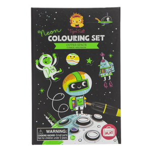 Outer Space Colouring Kit | The Gifted Type