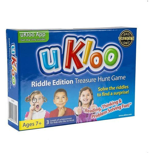 uKloo Treasure Hunt Game - Riddle Edition