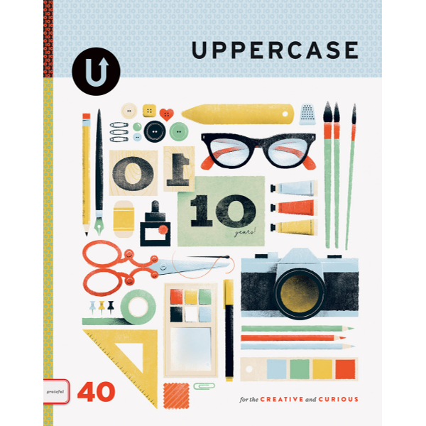 Uppercase - Issue 40: Grateful | The Gifted Type