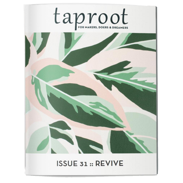 Taproot - Issue 31: Revive | The Gifted Type