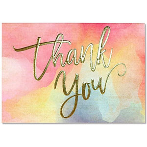 Hand Lettering Thank You Notecards