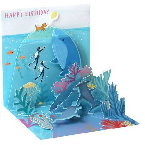 Ocean Birthday Pop-Up Card | The Gifted Type