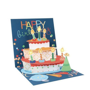 Birthday Cake Pop-Up Card | Up With Paper | The Gifted Type