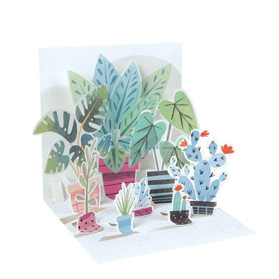 Potted Plants Pop-Up Card | The Gifted Type