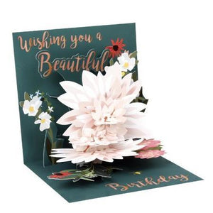 Beautiful Birthday Pop-Up Card | Up With Paper | The Gifted Type