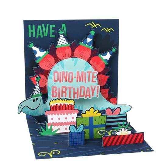 Dino-Mite Pop-Up Card | The Gifted Type