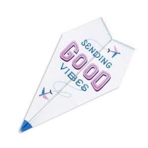 Paper Airplane Pop-Up Card | Up With Paper | The Gifted Type