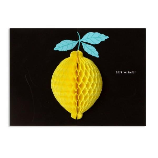Lemon Pop-Up Card | Up With Paper | The Gifted Type