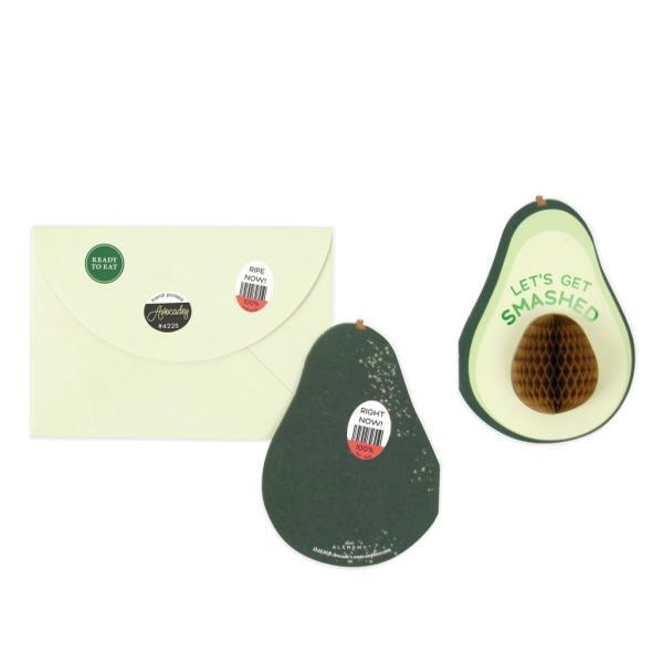 Avocado Pop-Up Card | Up With Paper | The Gifted Type