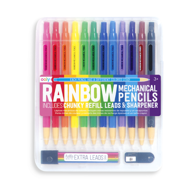 Rainbow Mechanical Pen Set | The Gifted Type