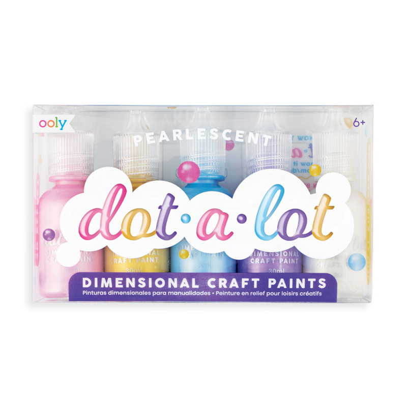 Dot-a-Lot Pearlescent Craft Paints | The Gifted Type