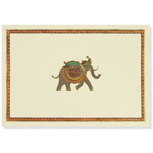 Elephant Festival Blank Notecards