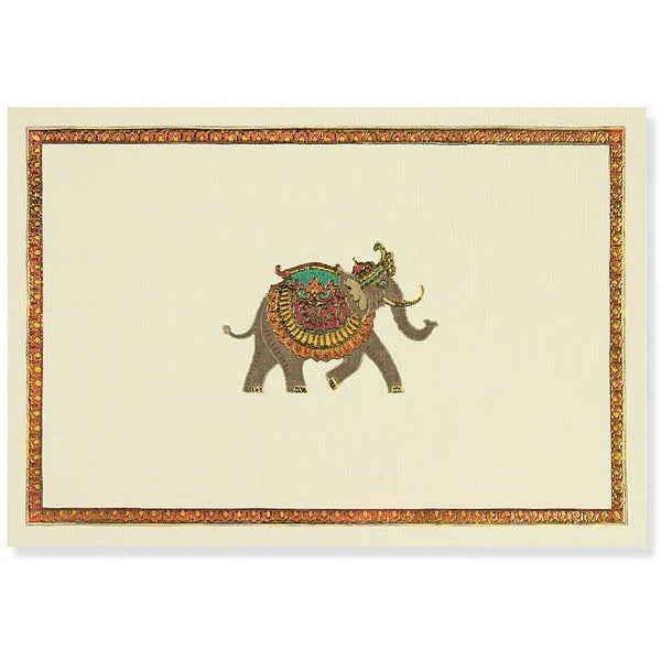 Elephant Festival Peter Pauper Blank Notecards | The Gifted Type