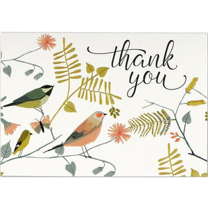 Songbirds Thank You Notecards