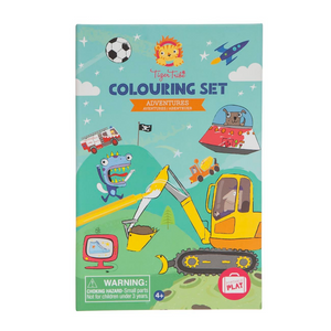 Adventures Colouring Kit | The Gifted Type