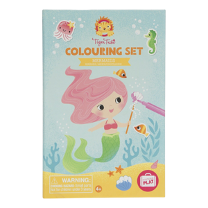 Mermaids Colouring Kit | The GIfted Type