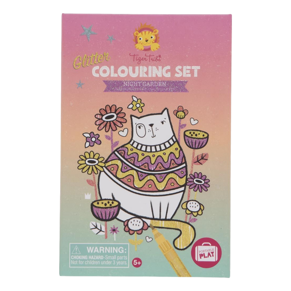 Night Garden Colouring Kit | The GIftedt Type