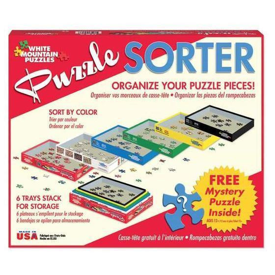 Puzzle Sorter | White Mountain Puzzles | The Gifted Type