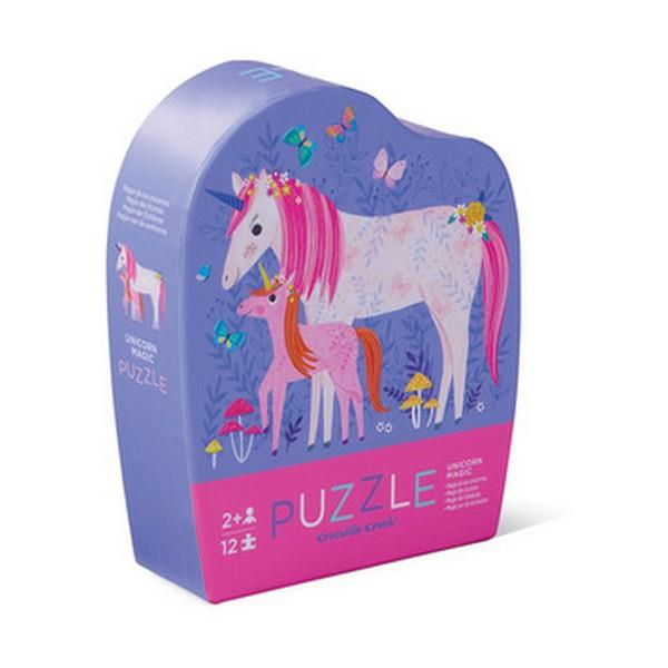 Unicorn Mini Puzzle - 12-Piece | The Gifted Type