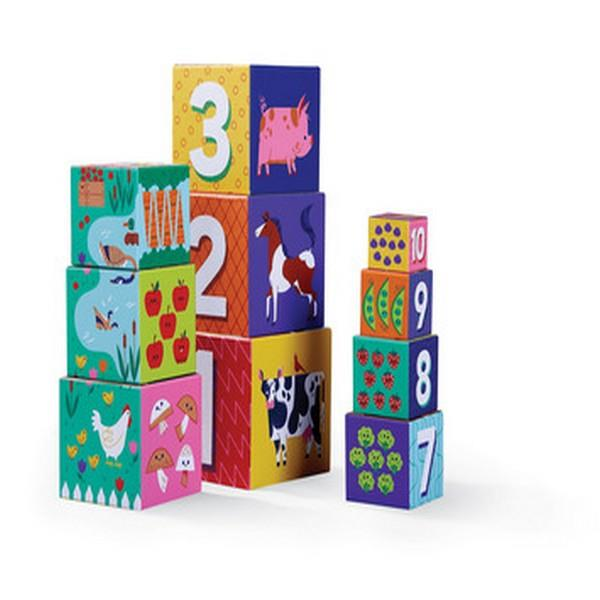 Nesting Blocks - Barnyard 123 & ABC | The Gifted Type