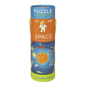 Puzzle Poster - Space | The Gifted Type