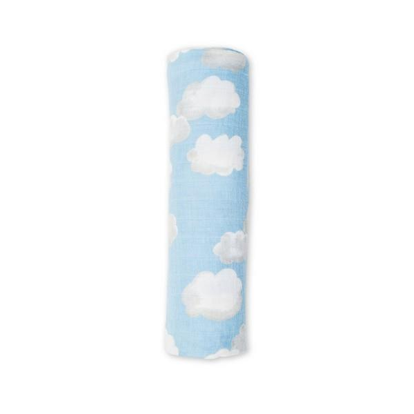 Clouds Muslin Swaddle Wrap | The Gifted Type