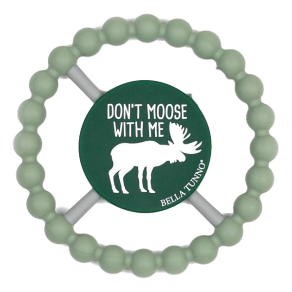 Bella Tunno Don't Moose Teether | The Gifted Type