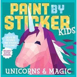 Paint by Sticker Activity Book - Unicorns & Magic