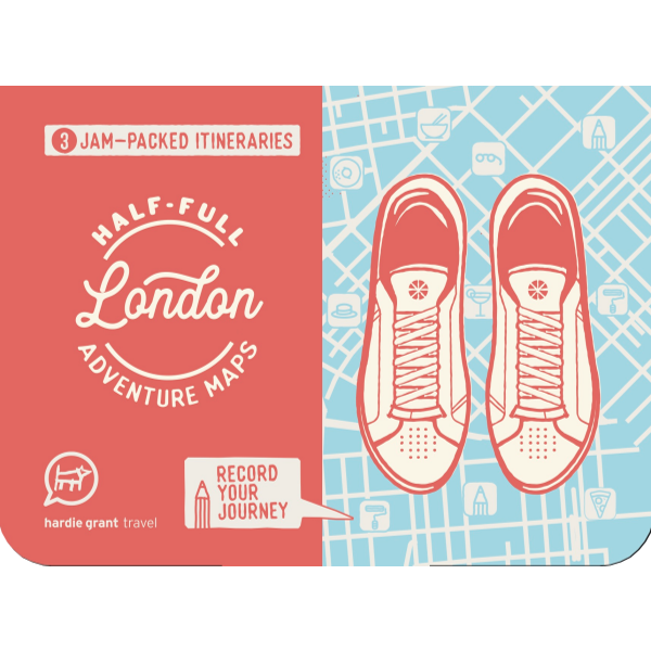 London Adventure Map | The Gifted Type