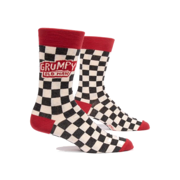 Grumpy Old Man Men's Crew Socks | The Gifted Type