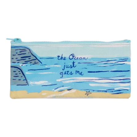 The Ocean Just Gets Me Pencil Case | The Gifted Type
