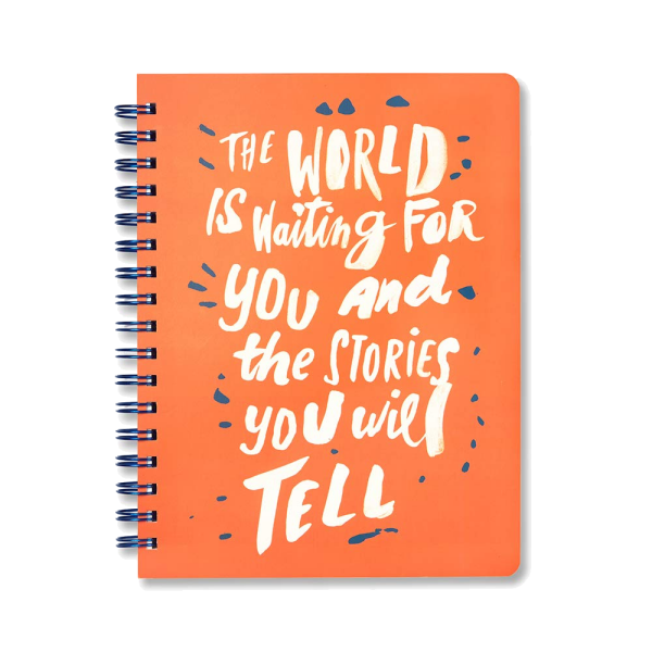 World is Waiting Notebook | The Gifted Type