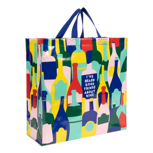 Wine Shopper Tote | The Gifted Type