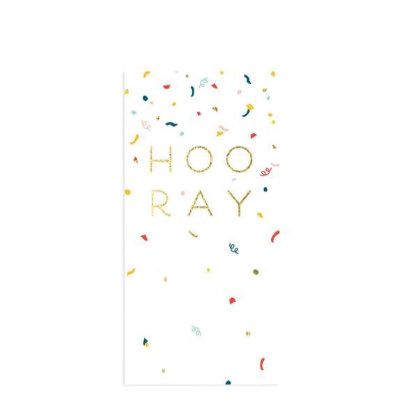Hooray Pop-Up Card | Up With Paper | The Gifted Type
