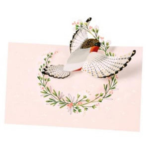 Finch Pop-Up Card | Up With Paper | The Gifted Type
