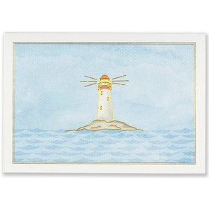 Lighthouse Blank Notecards Peter Pauper | The Gifted Type
