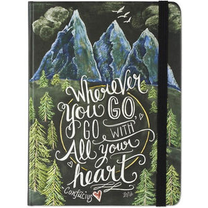 Wherever You Go, Go With All Your Heart Journal