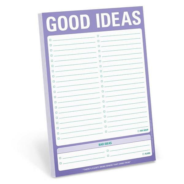 Good Ideas Notepad
